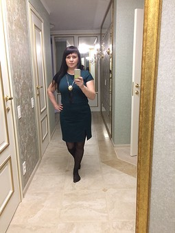 Работа с названием Платье Шитье и крой 2/2017