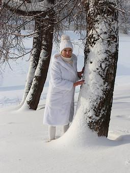 Работа с названием Снежный Плюшик