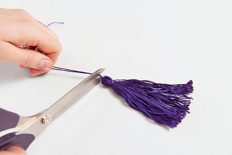 Экстрадлинные серьги-кисточки своими руками
