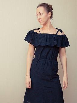 Работа с названием Летнее платье