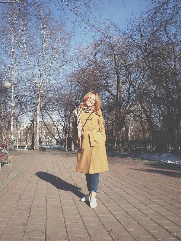 Пальто цвета camel от Ромашечка