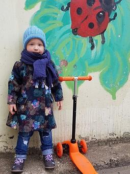Работа с названием Пальто для девочки 3 года
