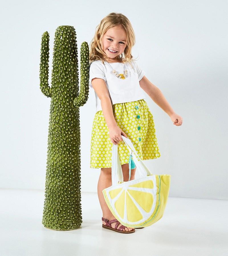 Детская сумочка ввиде лимонной дольки