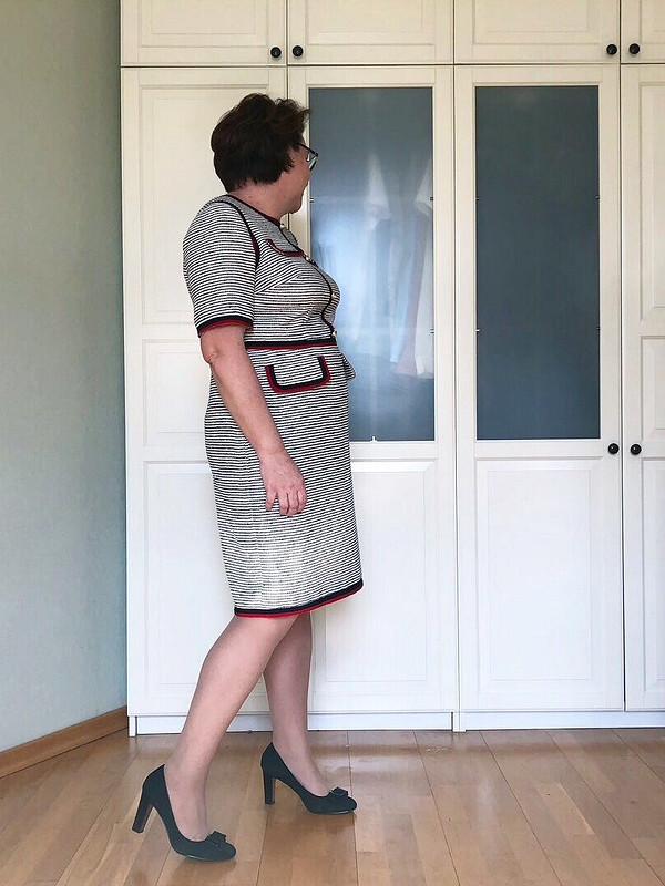 Платье «Кейт» вморском стиле