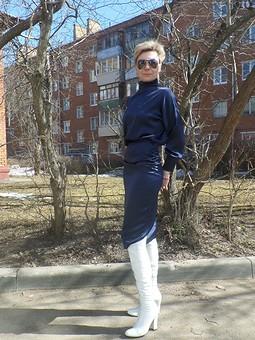 Работа с названием Платье для высоких женщин