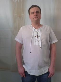 Работа с названием Рубашка из легкого батиста