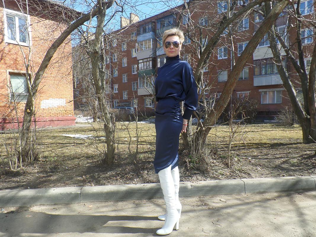 Платье длявысоких женщин