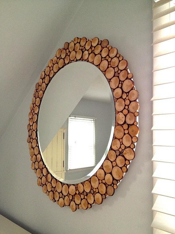 Декорируем зеркало: 7 мастер-классов