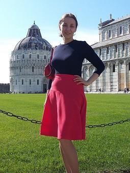 Работа с названием Идеальная юбка в Капсульный гардероб