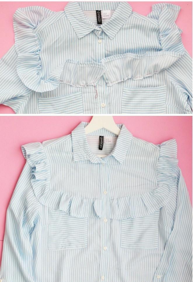 Превращаем простую рубашку внеобычную: 3 мастер-класса и20 идей