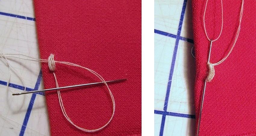 Как пришивать крючки дляодежды