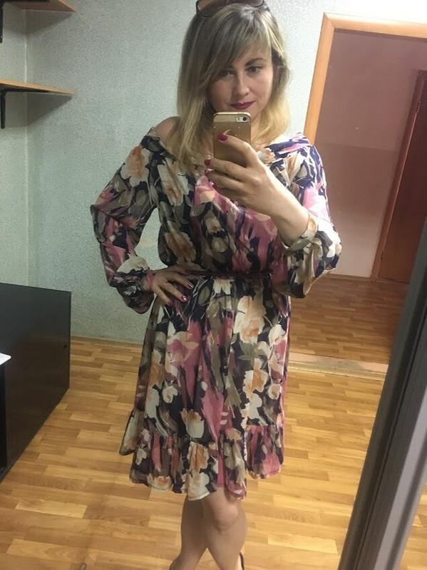 Такое изменчивое воздушное платье