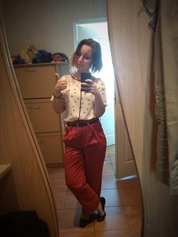 Работа с названием рыжие штаны