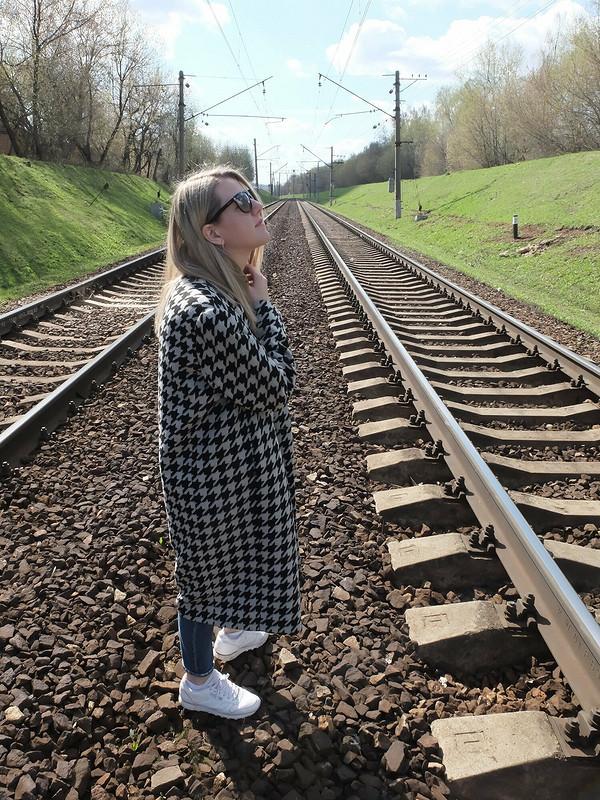 Пальто «Гусиная лапка»