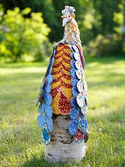 Работа с названием Текстильная Жар-птица