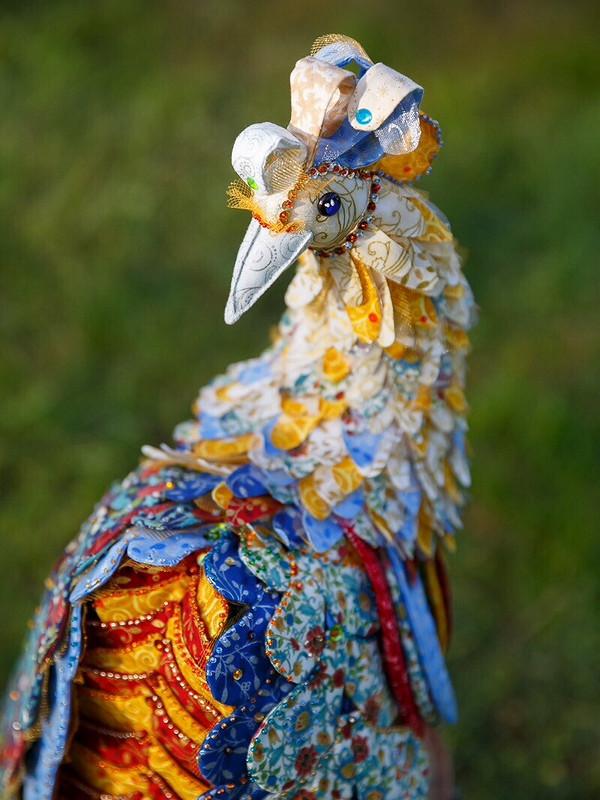 Текстильная Жар-птица от Ir