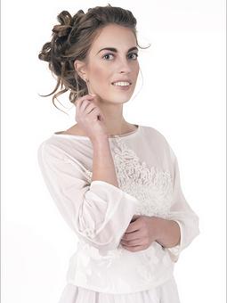 Работа с названием комплект из блузы и юбки