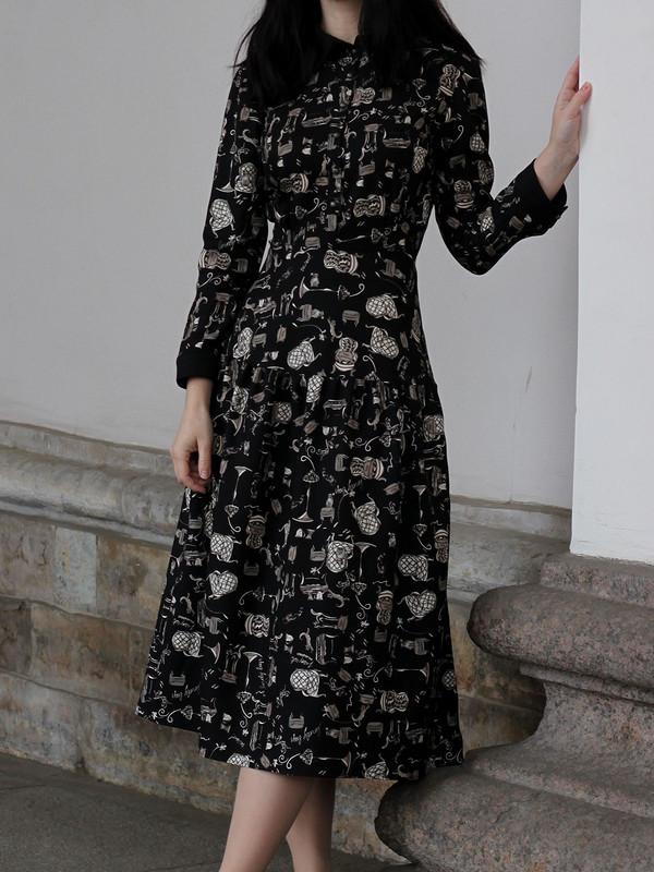 Платье-рубашка 3/2018