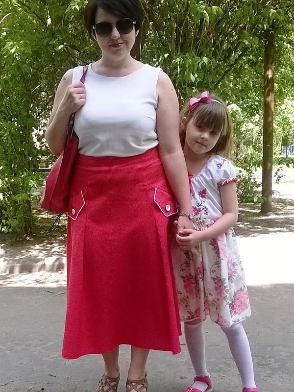 Алая юбка от olilak