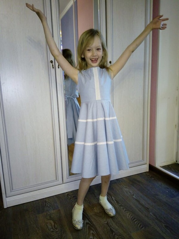 Детское платье от GylnazH