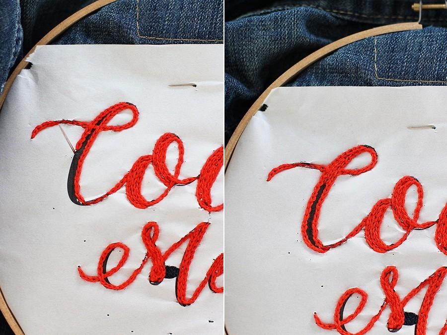 Украшаем джинсовую куртку вышивкой: мастер-класс и33 идеи длявдохновения