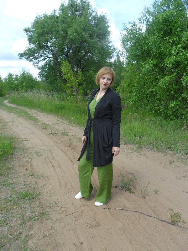 Летняя зелень или опять комбинезон