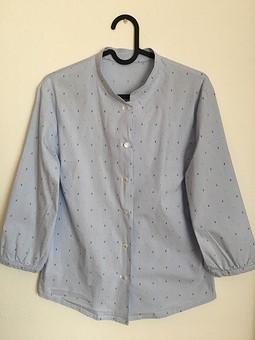 Работа с названием Блузка-рубашка из Burda 6/2013