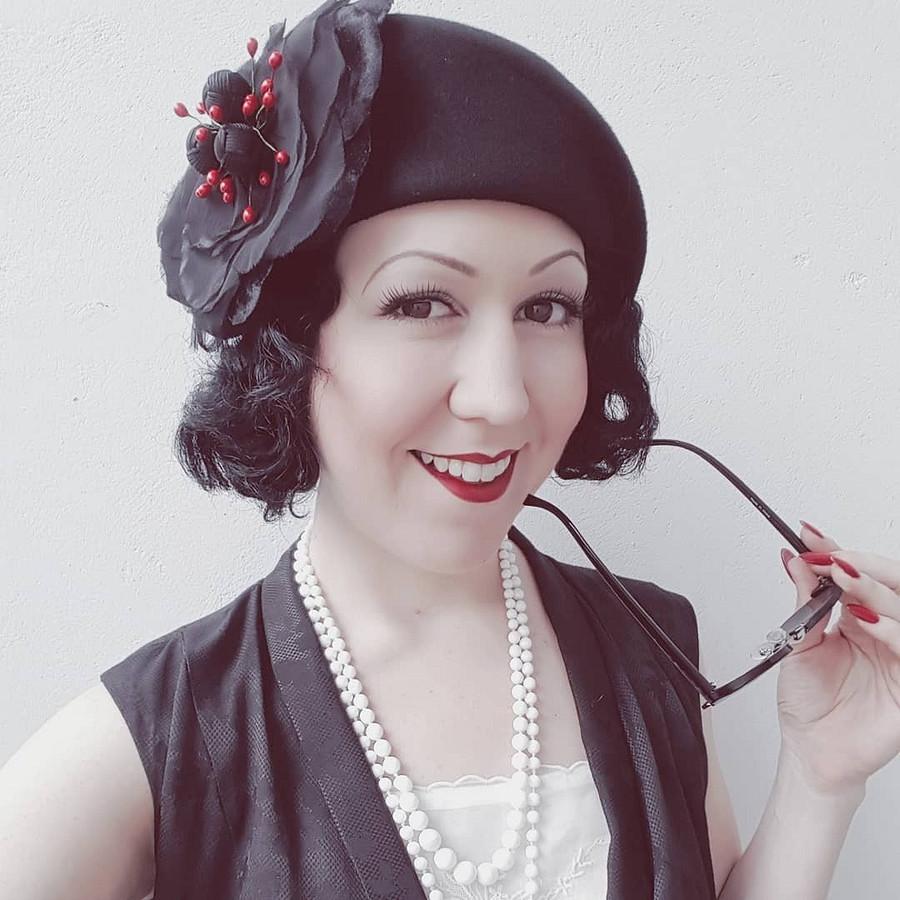Как носить наряды из30-40-х годов внаши дни: instagram недели