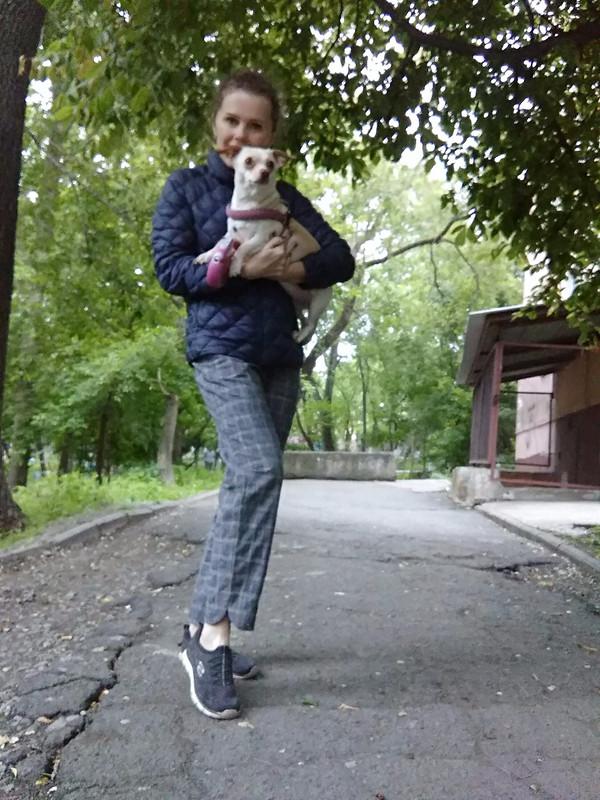 Брюки июбка изих обрезков)