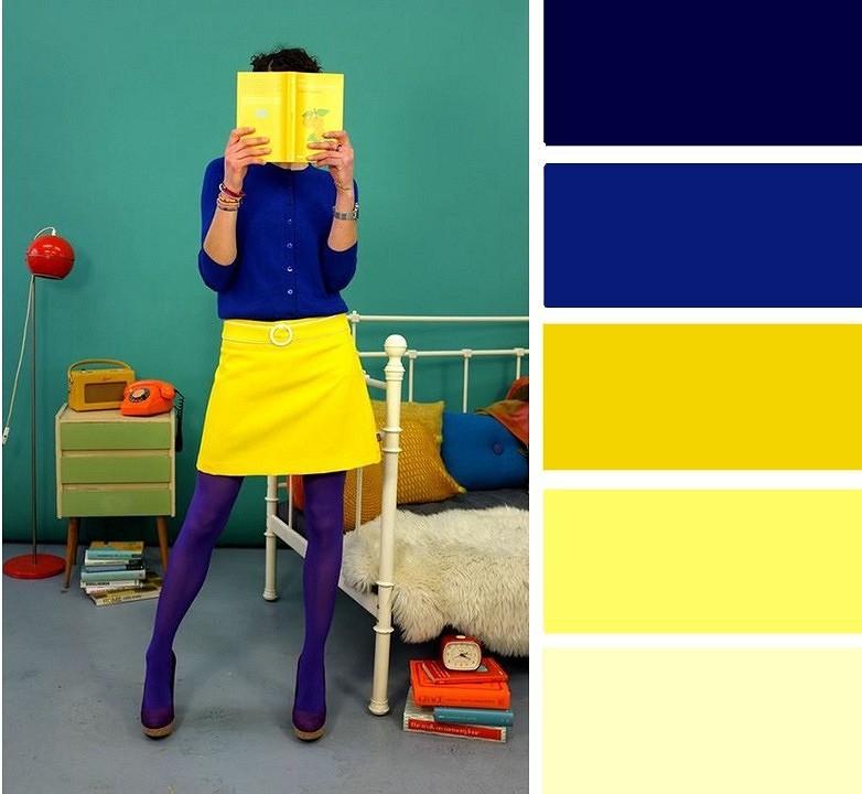 6 безупречных сочетаний ссиним цветом