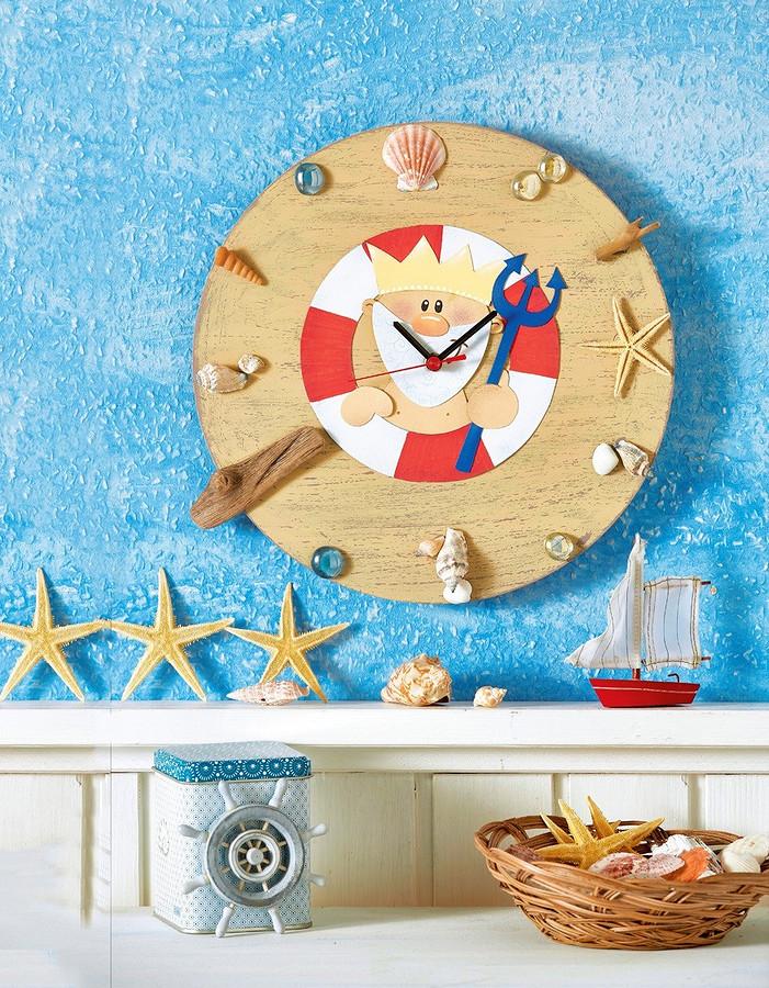 В гостях уНептуна: настенные часы своими руками
