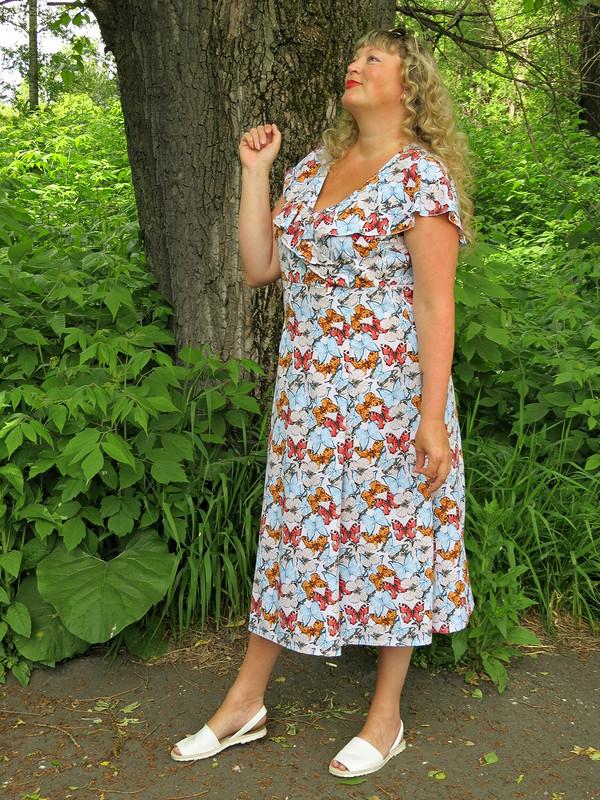 Девочковое платье «Бабочки +...»