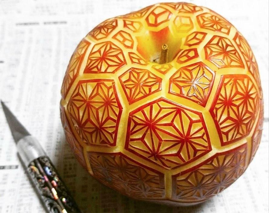 Карвинг дляначинающих, или Как научиться искусству создания шедевров изфруктов иовощей