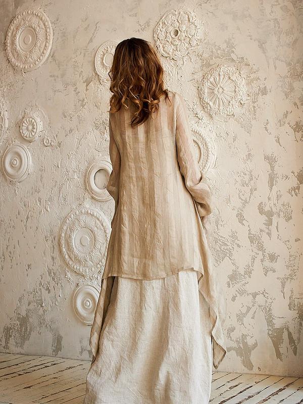 Льняной комплект издвух платьев от AlexandraMaiskaya
