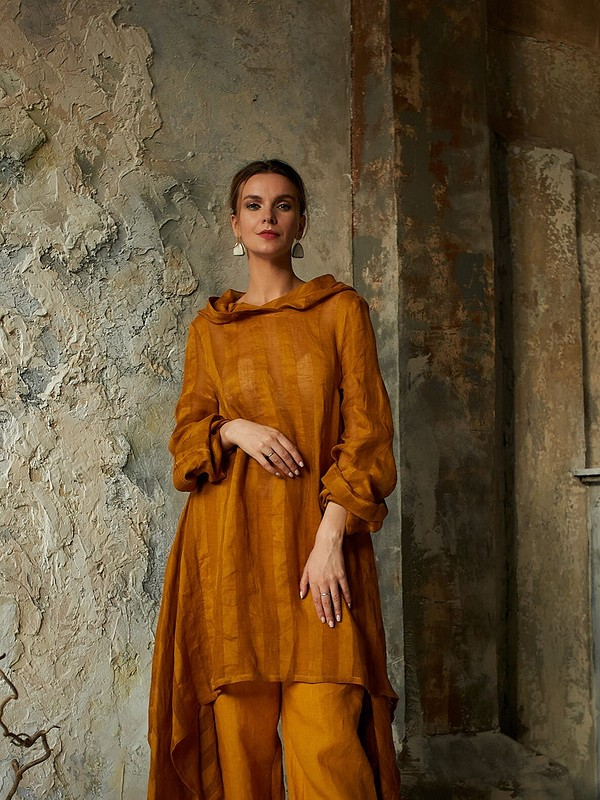 Льняной костюм «Королева Эльфов» от AlexandraMaiskaya