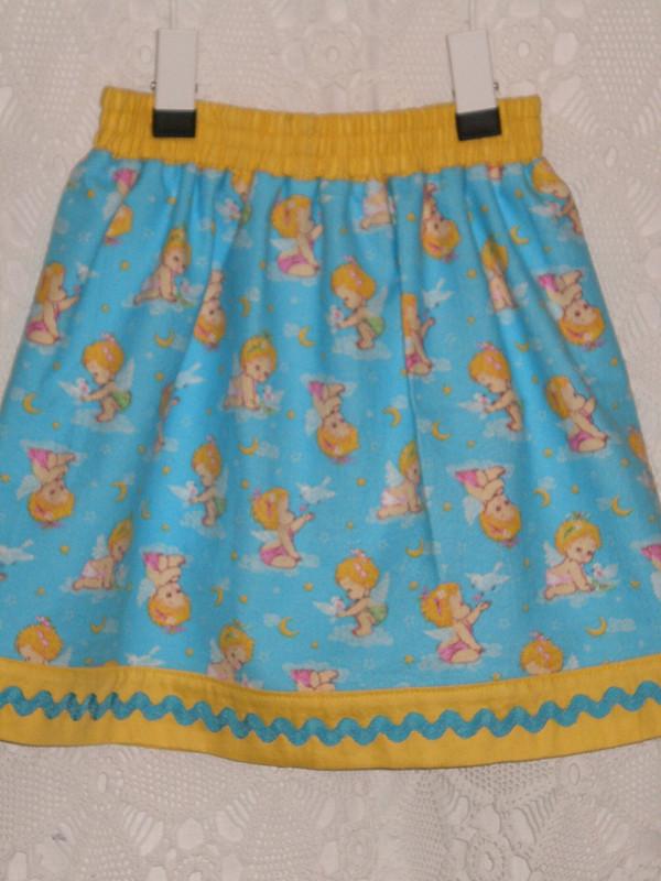 Проба пера: платье июбка длявнучки от Тата_М