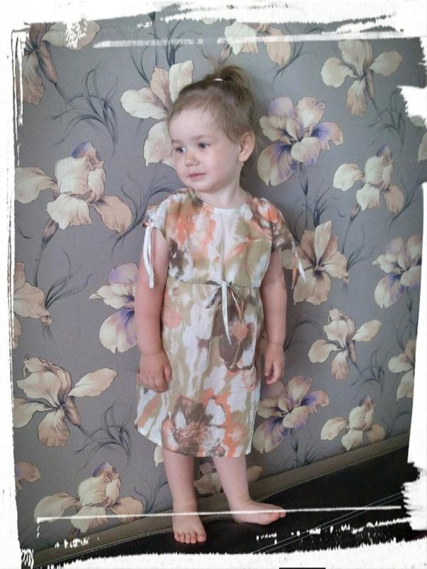 Платье-туничка длядочи