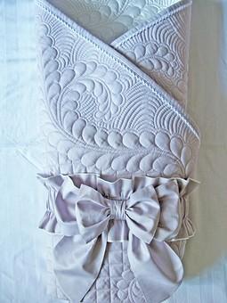 Работа с названием Одеяло с бантом для малыша