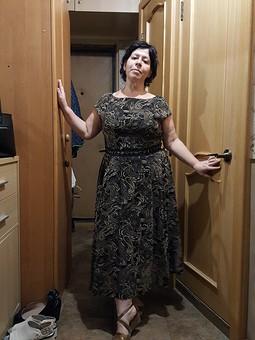 Работа с названием Платье от Итальянского дизайнера Эллы Сиромашенко