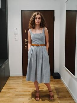 Работа с названием Платье-долгошив