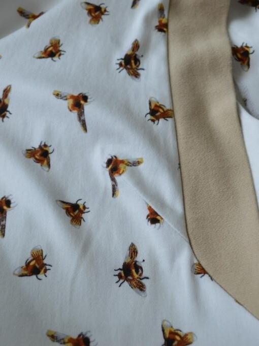 Платье спчелками