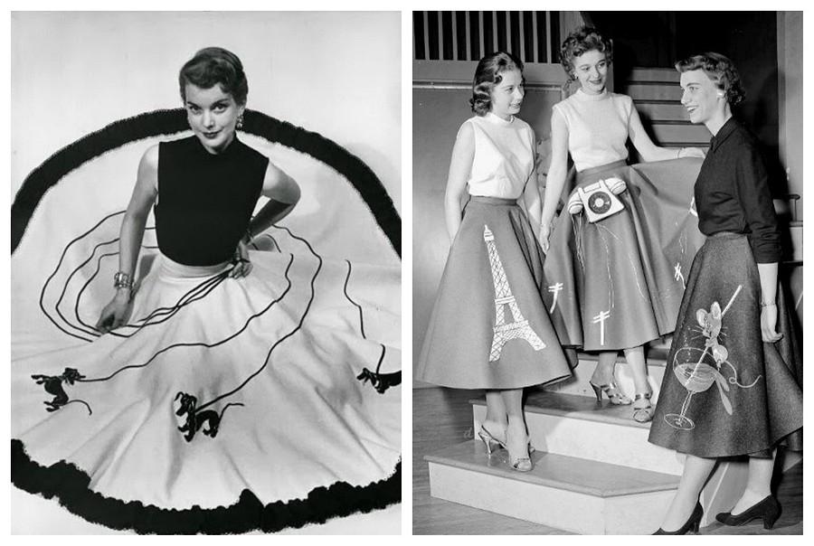 Юбка-пудель: удивительная модель из50-х