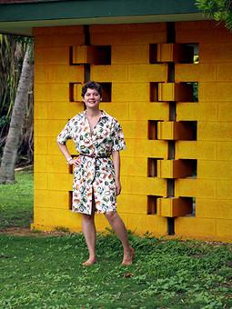 Работа с названием Отпуск в отпуске: платье в крабики