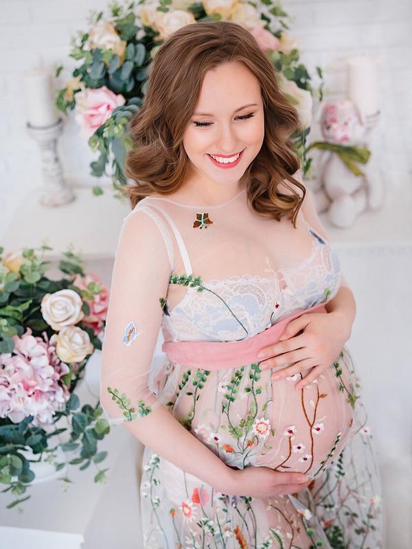 Будуарное платье от Lis Pyatkova