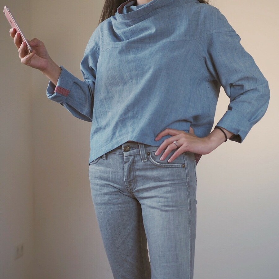 Необычные идеи дляшитья простой одежды: instagram недели