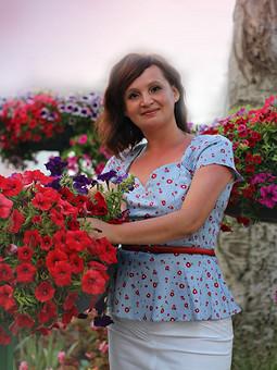 Работа с названием Полосочки, цветочки