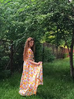 Работа с названием Платье мечты :)