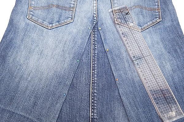 Как сшить юбку изджинсов: 5 мастер-классов разной сложности