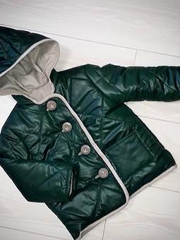 Работа с названием Куртка на двойном  синтепоне