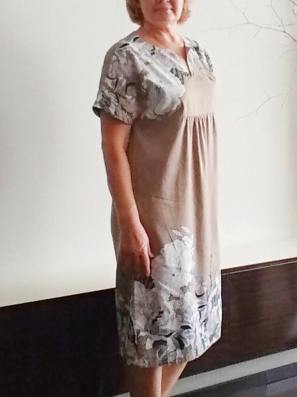 Летнее свободное платье от Nfbc
